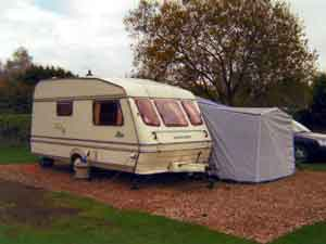 Compass Rallye 430/2 2 berth caravan c/w awning. Excellent condition!